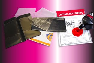 Stock And Made To Order Vinyl Document Holders Rnr Plastics